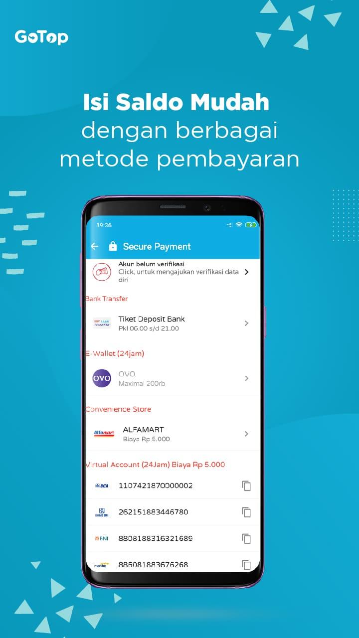Gotop Aplikasi Agen Pulsa Dan Kuota Termurah Di Indonesia 4