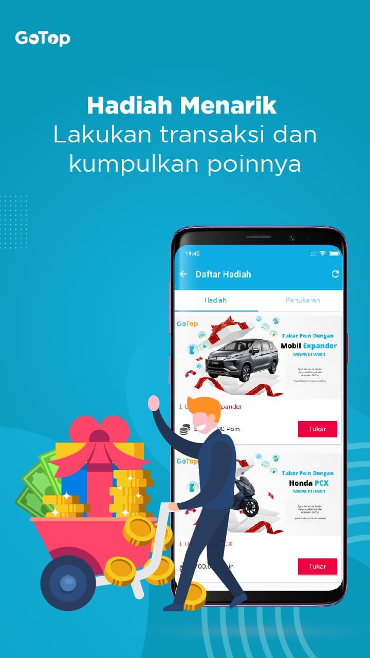 Gotop Aplikasi Agen Pulsa Dan Kuota Termurah Di Indonesia 3